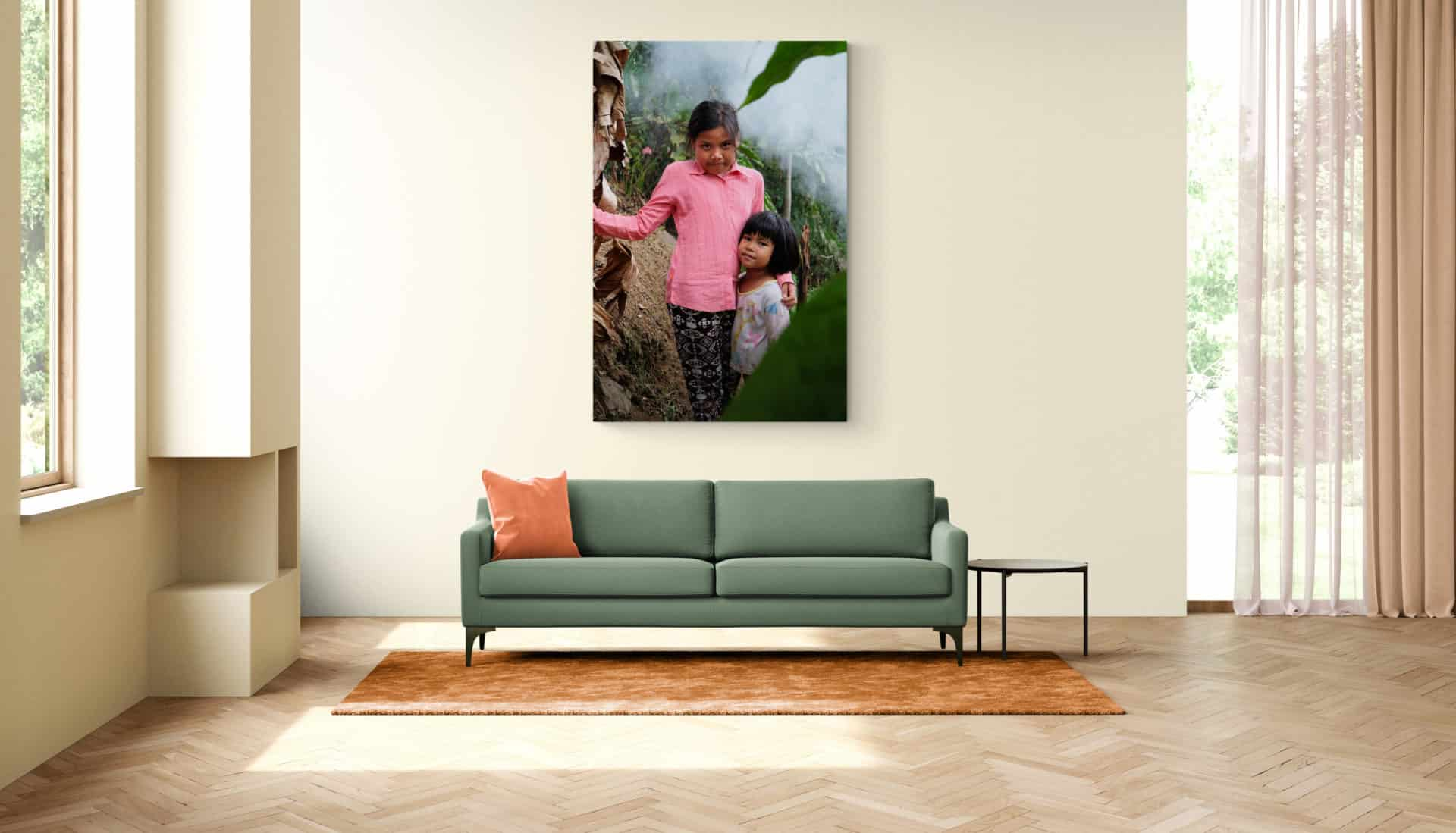 Wall art photography_children bali