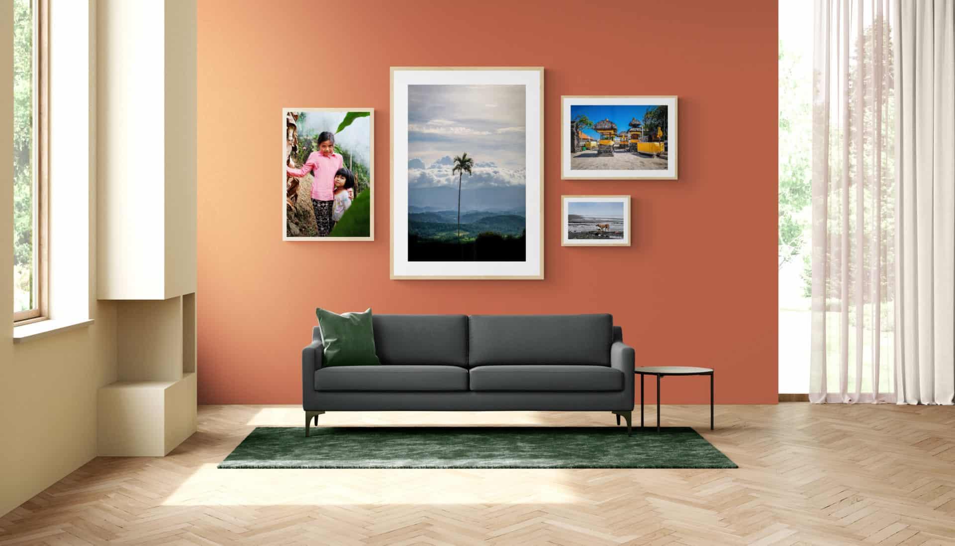 Wall art photograpy Bali